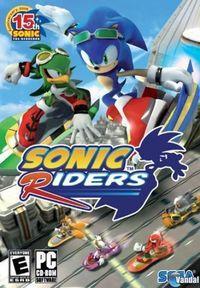 Portada oficial de Sonic Riders para PC