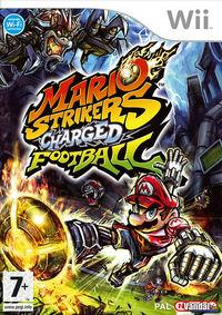 Portada oficial de Mario Strikers: Charged Football para Wii