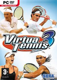 Portada oficial de Virtua Tennis 3 para PC