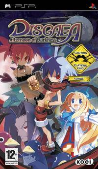 Portada oficial de Disgaea: Afternoon of Darkness para PSP