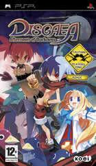 Portada oficial de Disgaea: Afternoon of Darkness para PSP