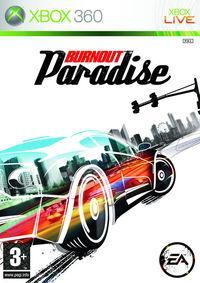 Portada oficial de Burnout Paradise para Xbox 360
