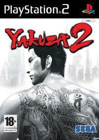 Portada oficial de Yakuza 2 para PS2
