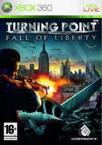 Portada oficial de Turning Point: Fall of Liberty para Xbox 360
