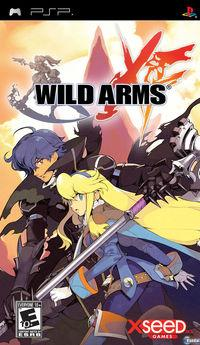 Portada oficial de Wild Arms XF para PSP