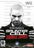 Portada oficial de Splinter Cell: Double Agent para Wii
