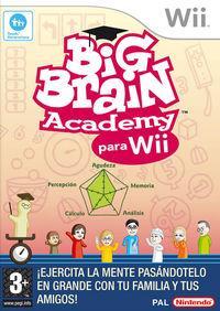 Portada oficial de Big Brain Academy para Wii