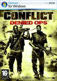 Portada oficial de Conflict: Denied Ops para PC