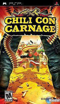 Portada oficial de Chili Con Carnage para PSP