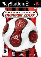 Portada oficial de Championship Manager 2007 para PS2