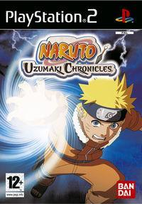 Portada oficial de Naruto: Uzumaki Chronicles para PS2