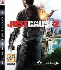 Portada oficial de Just Cause 2 para PS3