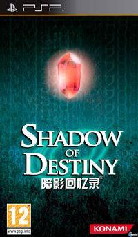 Portada oficial de Shadow of Destiny para PSP