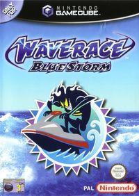 Portada oficial de Wave Race: Blue Storm para GameCube