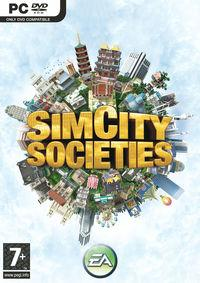Portada oficial de SimCity Societies para PC