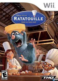 Portada oficial de Ratatouille  para Wii