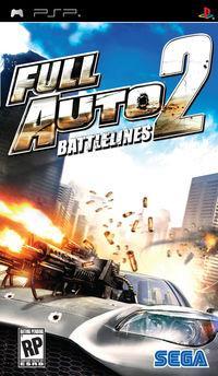 Portada oficial de Full Auto 2: Battlelines para PSP