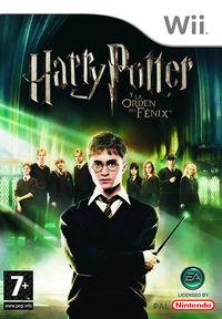 Portada oficial de Harry Potter and the Order of the Phoenix para Wii