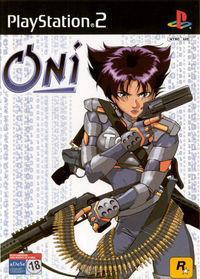 Portada oficial de Oni para PS2