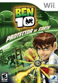Portada oficial de Ben 10 para Wii