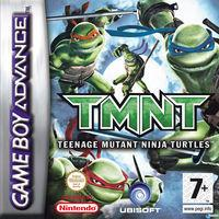 Portada oficial de Tortugas Ninja para Game Boy Advance