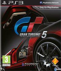 Portada oficial de Gran Turismo 5 para PS3