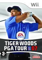 Portada oficial de Tiger Woods PGA Tour 07 para Wii