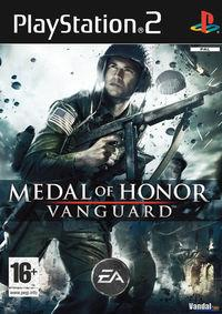 Portada oficial de Medal of Honor Vanguard para PS2