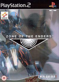 Portada oficial de Zone of the Enders para PS2