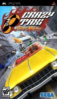 Portada oficial de Crazy Taxi: Fare Wars para PSP