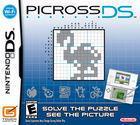 Portada oficial de Picross DS para NDS