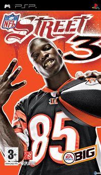 Portada oficial de NFL Street 3 para PSP