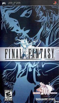 Portada oficial de Final Fantasy: Anniversary Edition para PSP