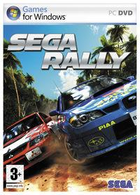 Portada oficial de Sega Rally para PC