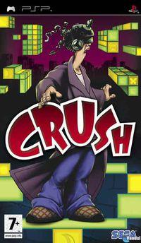 Portada oficial de Crush para PSP