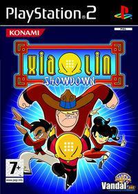 Portada oficial de Xiaolin Showdown para PS2