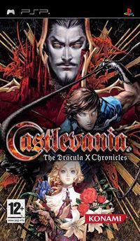 Portada oficial de Castlevania: The Dracula X Chronicles para PSP