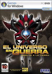 Portada oficial de El Universo en Guerra: Asalto a la Tierra para PC