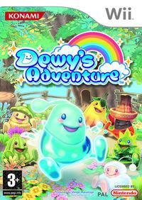 Portada oficial de Dewy's Adventure para Wii