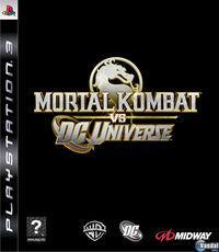 Portada oficial de Mortal Kombat vs DC Universe para PS3