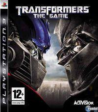 Portada oficial de Transformers: The Game para PS3