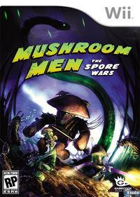 Portada oficial de Mushroom Men: The Spore Wars para Wii