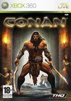 Portada oficial de Conan para Xbox 360