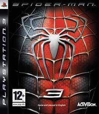 Portada oficial de Spider-Man 3 para PS3