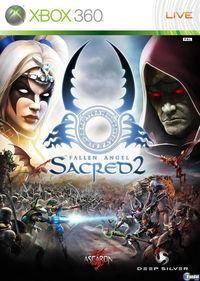 Portada oficial de Sacred 2: Fallen Angel para Xbox 360