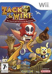 Portada oficial de Zack & Wiki: Quest for Barbaros' Treasure para Wii