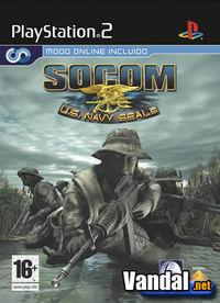 Portada oficial de Socom: US Navy Seals para PS2