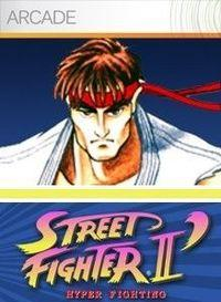 Portada oficial de Street Fighter II' Hyper Fighting XBLA para Xbox 360