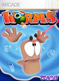 Portada oficial de Worms XBLA para Xbox 360