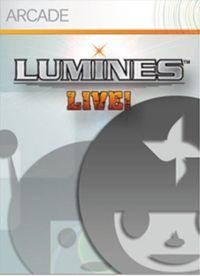 Portada oficial de Lumines Live! XBLA para Xbox 360